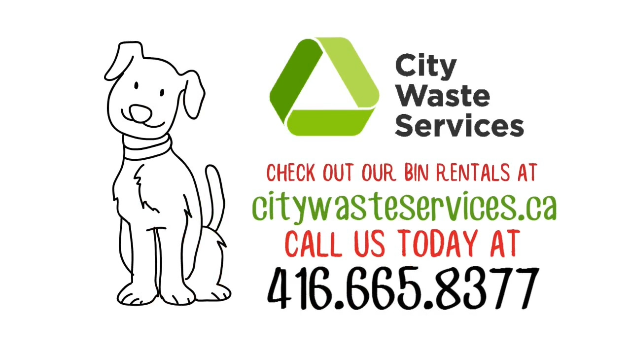 City Waste Services Garbage Bin Rentals Video
