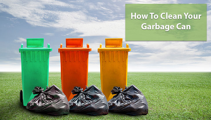 How to Clean Your Garbage Can