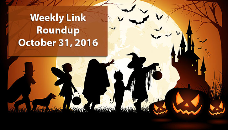 Weekly Link Roundup - October 31st, 2016
