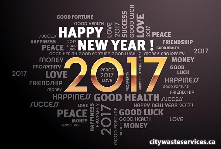 Happy New Year 2017 - City Waste Services
